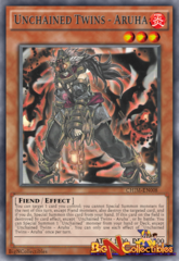 CHIM-EN008 - Unchained Twins - Aruha - Rare - 1st Edition