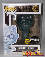 Funko Pop! Game Of Thrones - Night King - With Dagger (GITD) #84 Exclusive