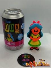 Funko Soda Alice Blacklight Funko Shop Exclusive LE 10,000pcs