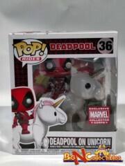 Funko Pop! Rides Marvel - Deadpool on Unicorn #36 Exclusive