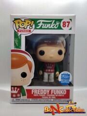 Funko Pop! Christmas Freddy Funko #87 Funko Shop Exclusive