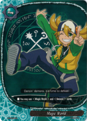 PR/0059EN - Magic World (card) (Alternate art with Tetsuya Kurodake)