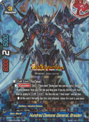 Hundred Demons General, Braiden - H-EB03/0003EN - RRR
