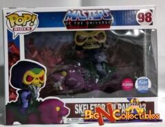 Funko Pop! Skeletor on Panthor #98 Flocked Funko Shop Exclusive