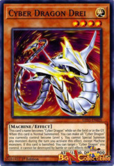 LED3-EN020 - Cyber Dragon Drei - Common - 1st Edition