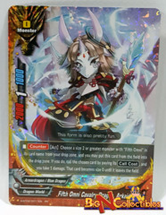 S-BT05/0011EN - RR - Fifth Omni Cavalry Dragon, Arkaid