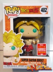 Funko Pop! Animation - Dragon Ball Z - Super Saiyan Broly #402 SDCC 2018 Exclusive