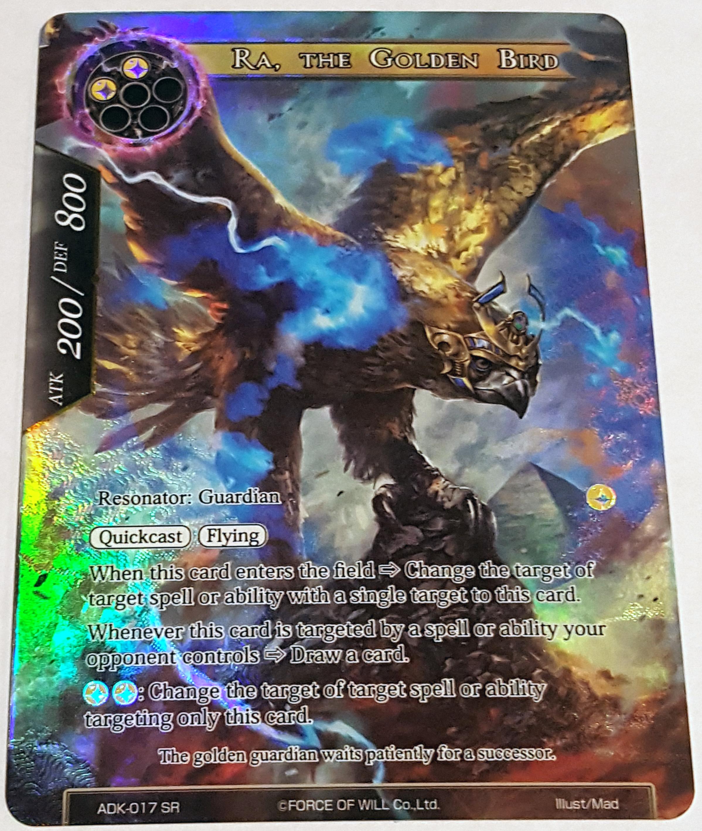 ADK-017 - SR - Full Art - Ra, the Golden Bird