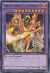 TDIL-EN045 - Metalfoes Crimsonite - Rare - 1st Edition