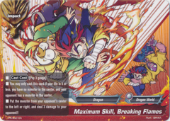 Maximum Skill  Breaking Flames - PR/0021EN - PR