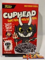 FunkO's Cuphead Devil Exclusive BOX ONLY (No Cereal No Figure)