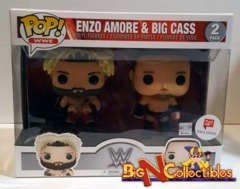 Funko Pop! WWE - Enzo Amore & Big Cass 2-Pack Exclusive