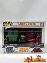Funko Pop! Star Wars Fighting Droids (2-Pack) Exclusive