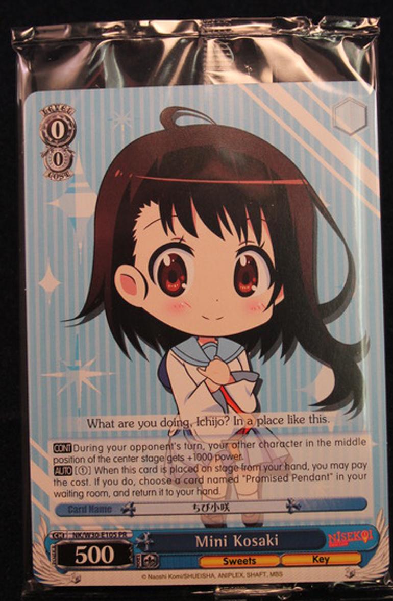 x1 Mini Nico Promo Normal Weiss Schwarz Promo Cards Near Mint English