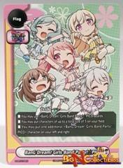 S-PR/079EN Flag Card BanG Dream! Girls Band Party! * PICO