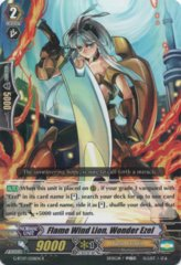G-BT07/028EN - R - Flame Wind Lion, Wonder Ezel