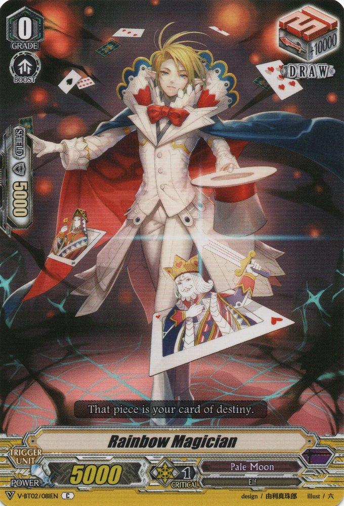 1x Cardfight! V-BT02//024EN RR Near Mint Vanguard Hades Hypnotist