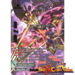 S-BT01A-UB03/SS01EN Chronicle Rare Tempestuous Unmatched Warlord, Barlbatzz