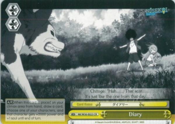 Diary - NK/W30-E023 - CR