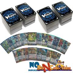 Cardfight 600 Cards No Duplicates w/ RR, RRR and R NO DUPLICATES AT ALL
