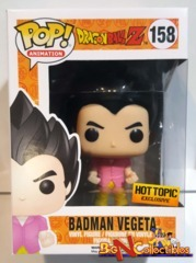 Funko Pop! Animation - Dragon Ball Z - Badman Vegeta #158 Exclusive