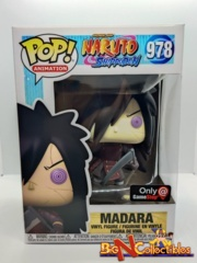 Funko Pop! Naruto Shippuden - Madara with Weapons #978 Exclusive