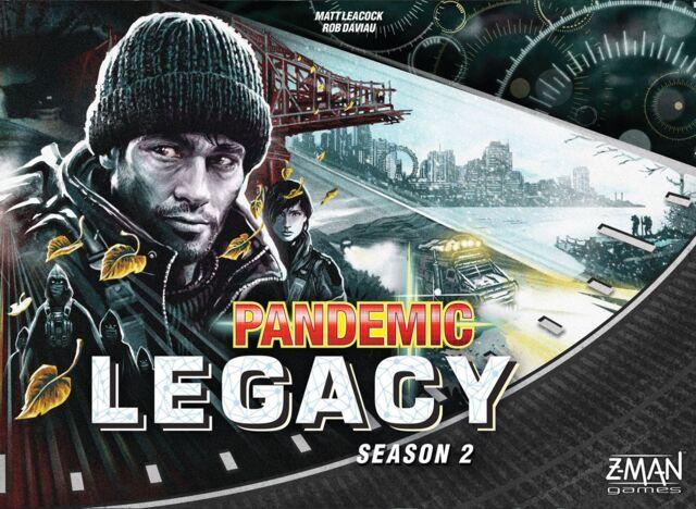 Pandemic Legacy: Season 2 - Black Edition