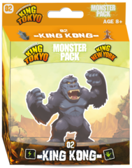 King Of Tokyo: King Kong Monster Pack - 2nd Ed