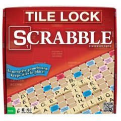 Scrabble Tile Lock
