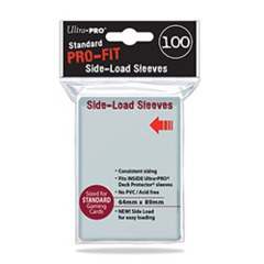 Ultra Pro - PRO-Fit Standard Side-Load Deck Protectors 100 Count (84649)
