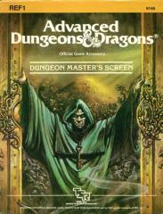 1st Edition (Advanced D&D) - REF1 Dungeon Master's Screen (Acceptable)