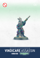 Officio Assassinorum - Vindicare Assassin (52-10)