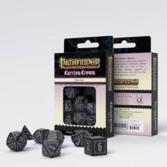 Q-Workshop - Pathfinder Carrion Crown 7-die RPG Dice Set