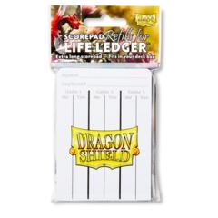 Dragon Shield: Life Ledger Scorepad Refills