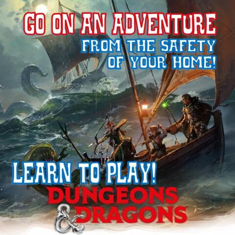 D&D 5th Edition Online Learn to Play - On Demand!