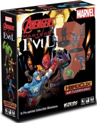 Marvel Heroclix - Avengers vs. Masters of Evil Heroclix Battlegrounds