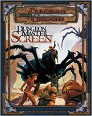 3rd Edition - Dungeon Master Screen (Good)