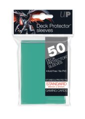 Ultra Pro - Solid Aqua 50 Count Standard Sleeves (15259)