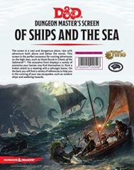 Dungeon Master's Screen - Of Ships and the Sea