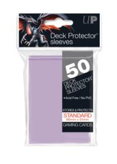 Ultra Pro - Solid Lilac 50 Count Standard Sleeves (15258)