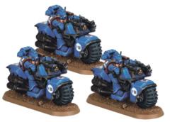 Space Marine Bike Squad (48-11)