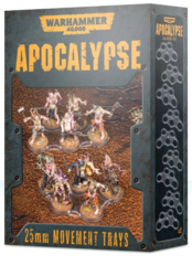 Warhammer 40,000: Apocalypse - 25mm Movement Trays