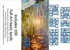Blue Ox - Magic Full Art Basics (100 Full Art Lands)