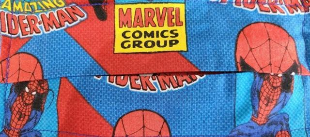 Hamptons Handmade Handicrafts - Cloth Face Mask - Marvel Spider-Man