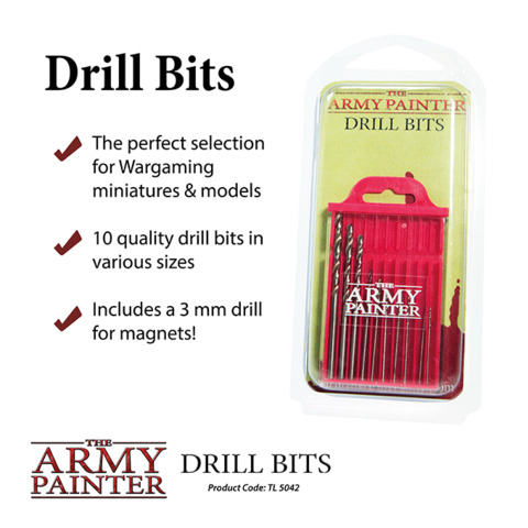 Army Painter - Drill Bits (TL5042) - Gaming Supplies » Army