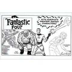 Fantastic Four #1 (Kirby B&W Hidden Gem Variant)