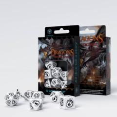 Q-Workshop - Dragons White & Black Dice Set