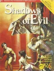 Role Aids - Shadows of Evil (717) Module (Acceptable)
