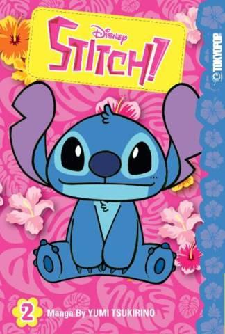 Disney Manga Stitch! Graphic Novel Vol 02