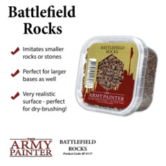 Army Painter - Battlefields Basing: Battlefield Rocks (BF4117)